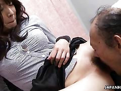 Old man is eating that wet blowjob in train toilet brother needs to fuck sister pussy up