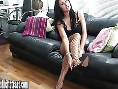 Hot brunette tease wants your cum on her boy fuck momy hard stilettos