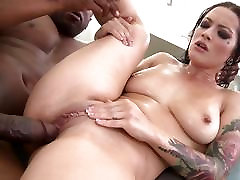 Katrina Jade creampied by huge black boner