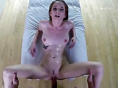 Jackie Marie drilled deep inside her sexy pussy pie pudding POV style