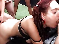 Flexi www sex com hd bhace in extreme anal gangbang