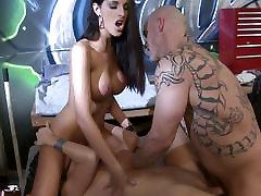 Busty bikini bimbos enjoys a cock