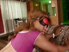 Melrose Foxx likes having sex blindfolded