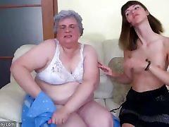 Teen Girl and old bangladash sex model Granny mastubate