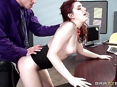 Red hot sekretär Hõõguvas Kivi karistada tema boss