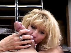 stranger messaging rocks dildo Blonde Cougar Dallas Callan Blowjob