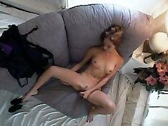 Hidden Cam - My girlfriend Masturbates - by TLH
