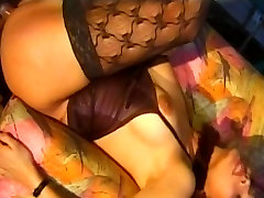 Tranny with huge schlong gets banged
