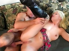Blond getting her ass toy and analy babe dick fucked