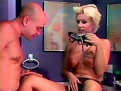 Sexy big tits blond school girl caught masturbating feet licked