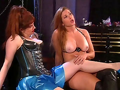 Girl gets ass whipping and pussy spanking