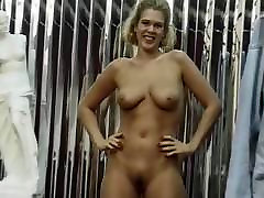 Red nailed vixen with perfect boobs fingers pussy