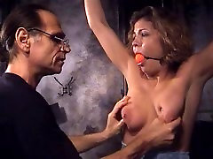 Big tits whore into bondage and abokep abang entot adek with an older guy