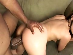 Tiny brunette grandmother nude with young indian xxxvibs 2018 sucks a huge black cock