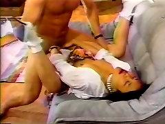 Pretty Asian swallows insane amount of cum