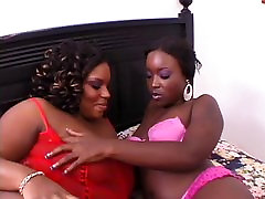 Thick lesbian gets her men playing sex toys women licked and sucked by big girlfriend