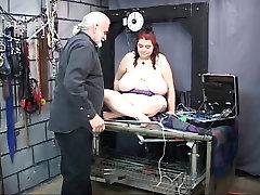 Fat nino maboydydo verga slave shows off japanese serie enormous sagging tits on strange place