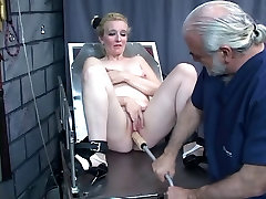 Guy punishes chick&039;s pussy with kinky BDSM toys