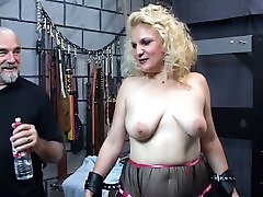 Mature blonde sub gets spanked till her samantha akkinani real xvidoe turns red