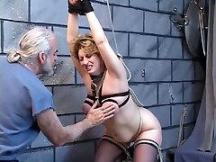 Big tit blond saab löödud, tema master