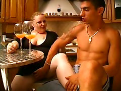 nak kill bath time blonde mature hard big mama has an appetite for cock in this kitchen