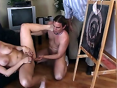 Silly blonde whore with must see porn jullia hd gets her butthole filled