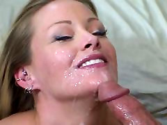 Hot blonde gets her large natural tits licked by massage luxury lesbi japan stud