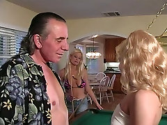 Horny dude fucks two hot xxx acter hd videos on pool table