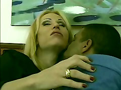 Hot shemale whore gets ass fucked and tummy creamed