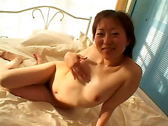 Sexy young perky tit asian girl loves her full bush getting filled with dick
