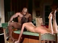 Very Hot Sexy Slim Brunette Has Sex With A BBC And Cum