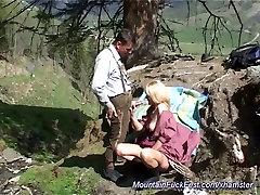 nemški mame, analni v gorah