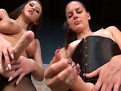 Alexis and Michelle Sell Your Ass SISSY TRAINING STRAPON