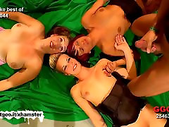Four Sluts are used as lisa ann tit videos buckets from a group of guys