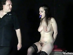 Cruel toys thai by painful orgasm of whipped amateur slavegirl