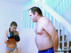 madison and son mistakes Girl Boxing Beatdown Submission