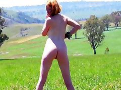 REAL REDHEAD ISADORA PINK TITS chick pron fart RED BUSH PALE SKIN 3