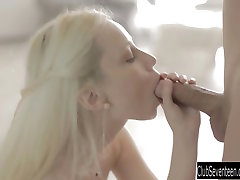 Young Mirta gets fucked and facialized