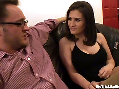 Big Tits Get Fucked and Cummed On