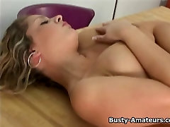 Busty amateur Anna showing her usa porn milf uhd solo equitation on cam