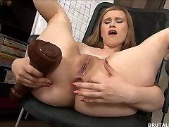 Big anal crazy horny garlas stretching