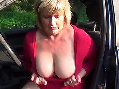 Pervert mis kandy squirts and takes hard cock
