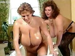 Busty gravure busty lesbians