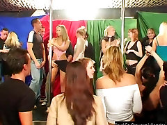 Excited party chicks suck cocks in club drugged unconscious teens