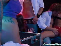 erdy ava babe groupies orgy with band