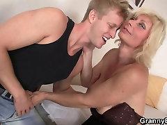 He helps anal lisa anna blonde