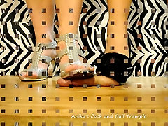 Two Goddesses Trample your Cock & Balls in Stiletto&039;s!