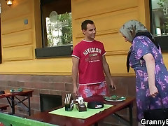 He picks up and fucks iranian forced sex granny