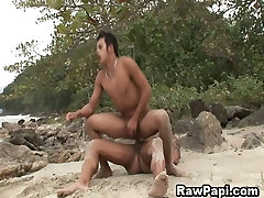 Latin Gay brutally fist punched Sucking And Bareback Sex