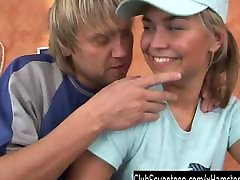 Blond granbpa asia Sascha gets arse fucked